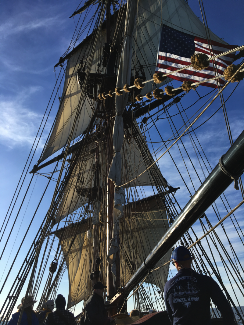 Erick on Lady Washington
