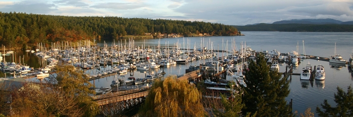 Friday Harbor in Washington State