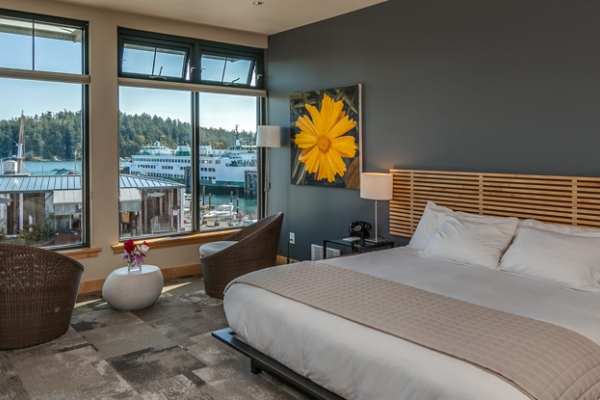 Stay at The Island Inn, Friday Harbor's newest hotel