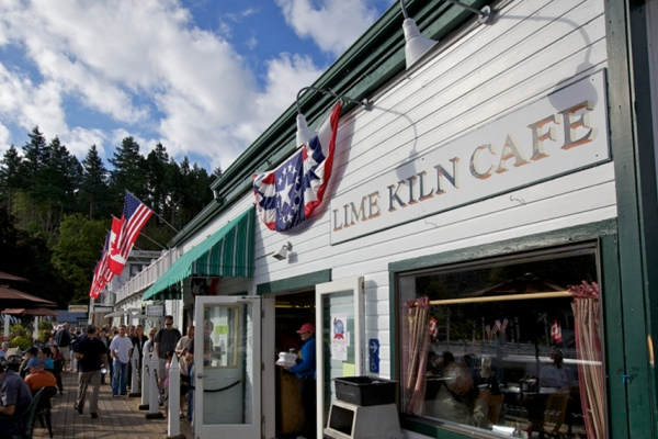 Lime Kiln Cafe exterior