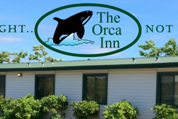 Spend a night, not a fortune! Stay at the Orca Inn.
