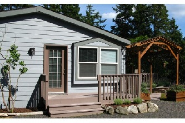 Waterfront vacation rental near Roche Harbor.