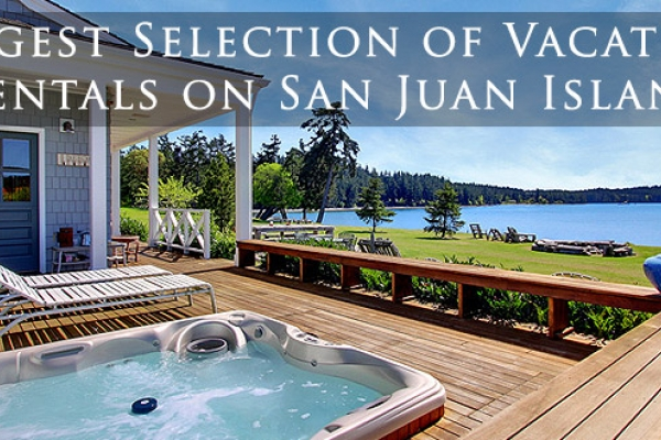 San Juan Islands vacation rental homes for San Juan Island and Orcas Island