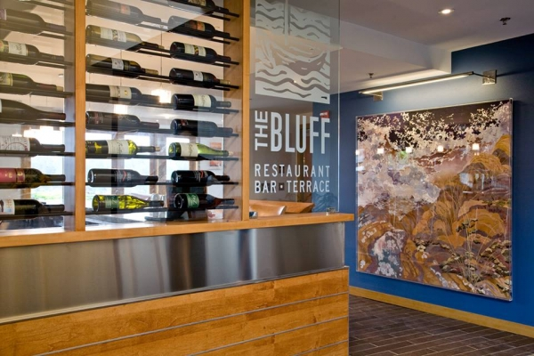 The Bluff Restaurant in Friday Harbor